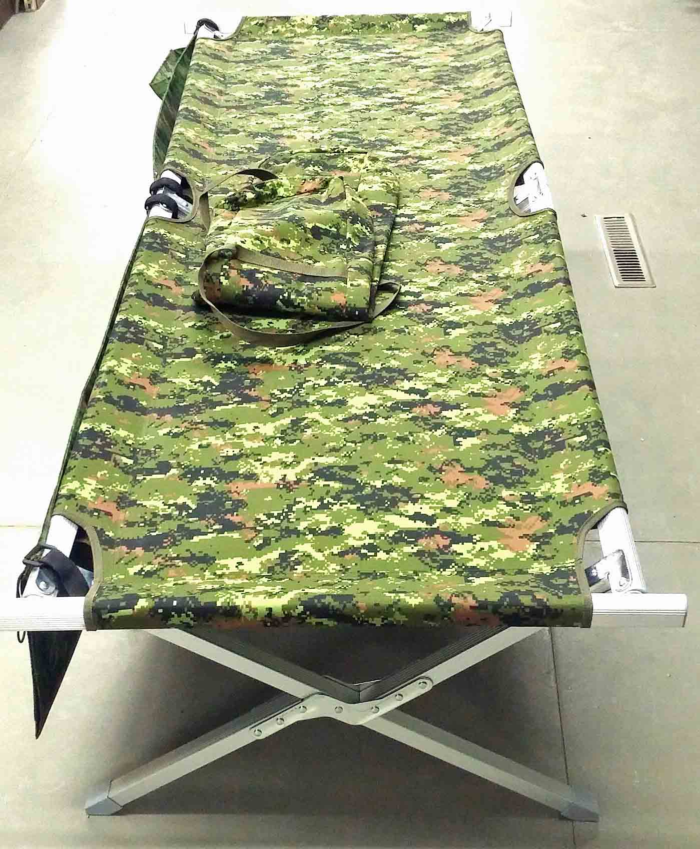 Canadian digital folding cot