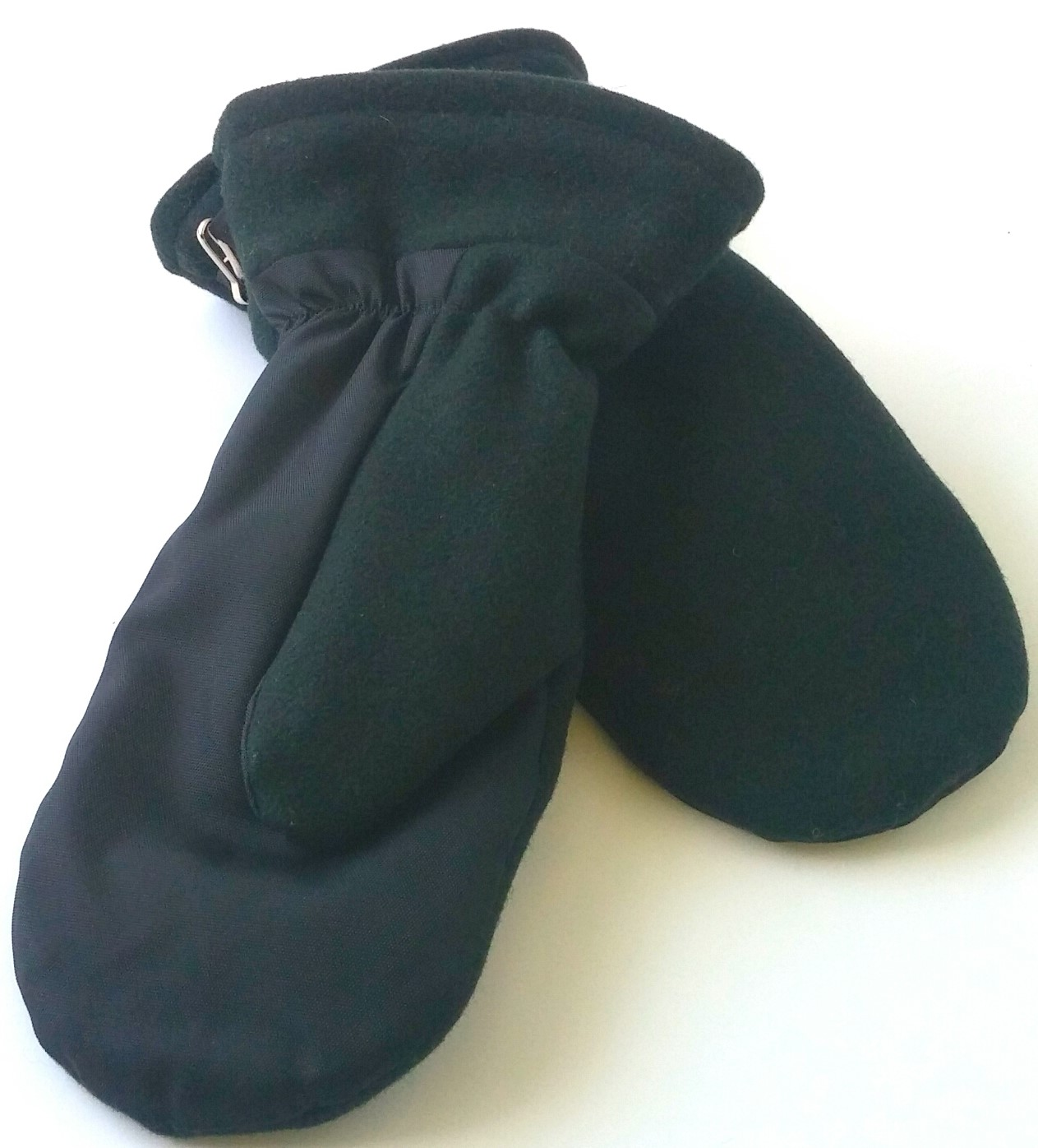 Wool and nylon mittens