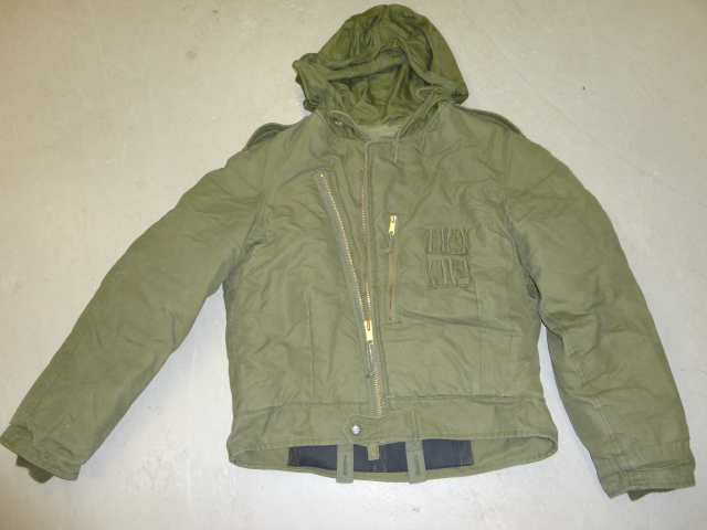 Man`s cold weather AFV crews medium used jacket
