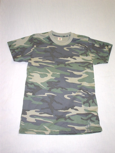 MILITARY STYLE CAMO T-SHIRT **in sale**